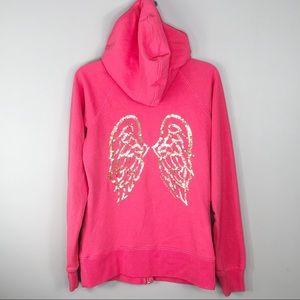Victoria's Secret Angel Pink Sequin Hoodie